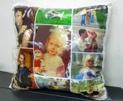 Подушки с фото в Алматы. Нанесение любых изображений. Разные размеры