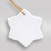Керамические шары к новому году. Елочные подвески с печатью.